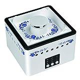 Karrychen Purificador de Aire con Filtro HEPA portátil USB de cerámica para Fumadores de Segunda Mano, Azul