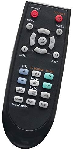 ALLIMITY AH59-02196A Afstandsbediening Vervangen voor Samsung Soundbar System HT-SB1 HT-SB1GXEF HT-SB1R/XEF HT-WS1 HT-WS1G/EDC HT-WS1G/XEE HT-WS1G/XEF HT-WS1R/EDC HT-WS1R/XEF