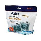 Aqueon QuietFlow Filter Cartridge, Small, 6-Pack