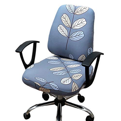 collectsound Stuhlbezug Stretchy Split Office Sessel Protector Sitz Rückenlehne Dekoration Waschbar Für Hotel, Esszimmer -1Pack 5#