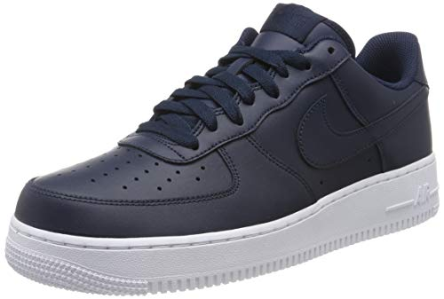 Nike Mens Air Force 1 Low Sneaker, Adult, White/White,...