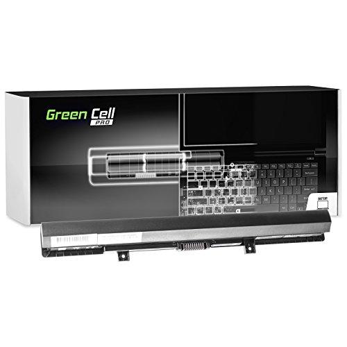 Green Cell® PRO Serie Batería para Toshiba Satellite C50D-B-13U Ordenador (Las Celdas Originales Samsung SDI, 4 Celdas, 2600mAh, Negro)