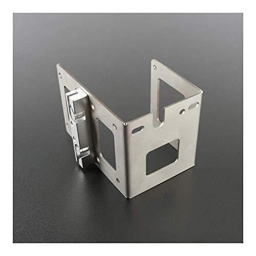 Printer Accessories L Bracket U-Shaped Metal Bracket Extruder Timing Belt Holder Silver for Prusa I3 MK7 MK8 Extruder 3D Printer Part 3D Printing Accessories