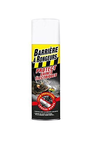 BARRIERE A RONGEURS Résine Protect Gaines électriques, Jusqu à 6 mois, Aérosol 400 ml, BARGAINE400