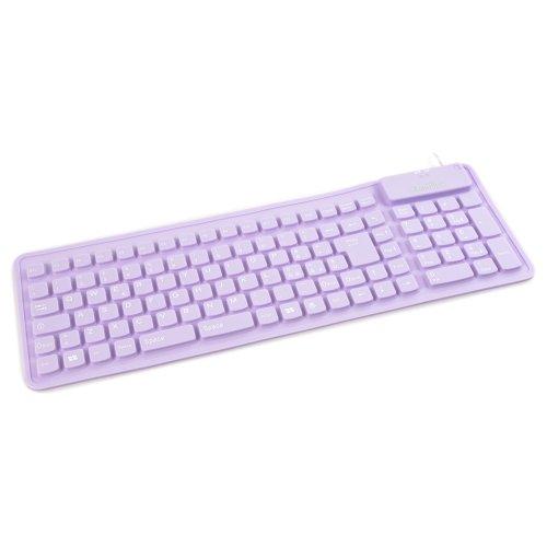 Kraun Tastiera Flex Rubber (Violet)