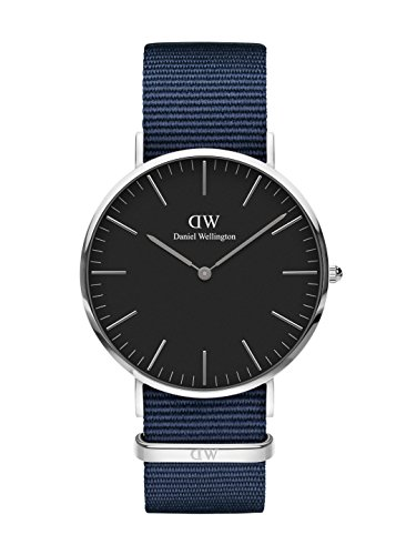 Daniel Wellington Unisex volwassen analoog kwarts horloge met stof armband DW00100278