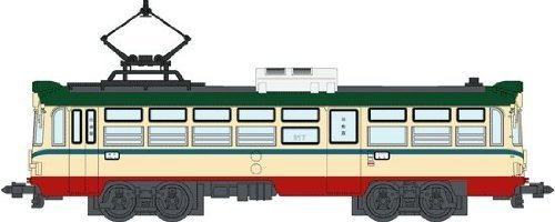 ハセガワ 1/150 土佐電鉄 600型 標準塗装 (増結用T車)
