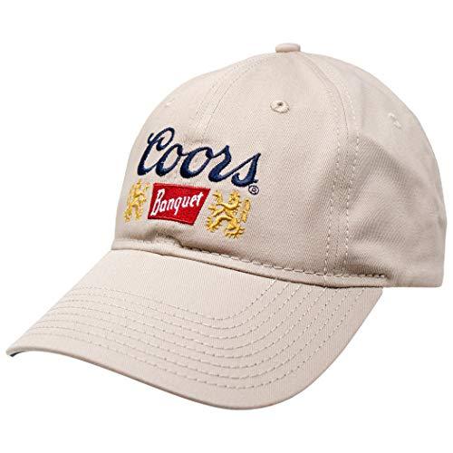 Coors Mütze mit Bier-Logo, verstellbar, Khaki