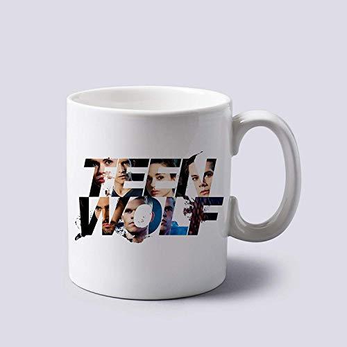 Teen Wolf Cool Logo Mug Cup Two Sides 11 Oz Ceramics