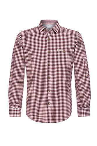 Stockerpoint Herren Campos3 Trachtenhemd, Rot (Bordeaux), XX-Large