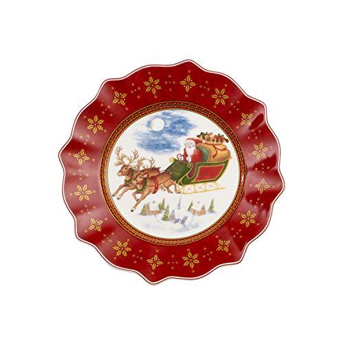 Villeroy & Boch Teller, Porzellan, Bunt, Jahresteller
