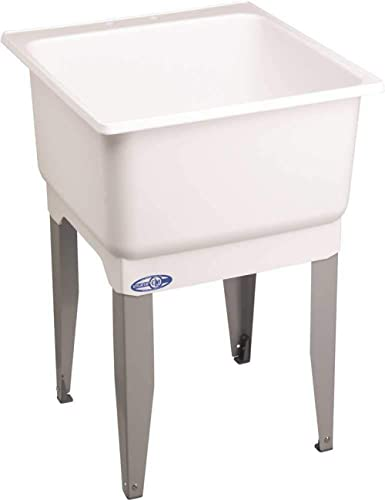 E.L. MUSTEE & SON 14K Mustee Sink Mold 20 Gal. 1 Basin