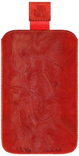 Gripis 40068288 - Custodia Slip in Pelle per cellulari, Taglia: 9, Colore: Rosso