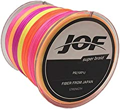 500M 39LBs 0.28mm Outdoor Fishing Line Strong Braided 8 Strands Multicolour Fishing Line zjm-YG0056M