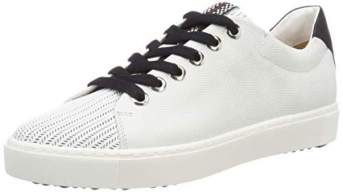 Maripe Damen 28250 Sneaker, Weiß (Bianco(Laser 9293 in AGNELOTTO Bianco-VAR.03) 10), 39 EU