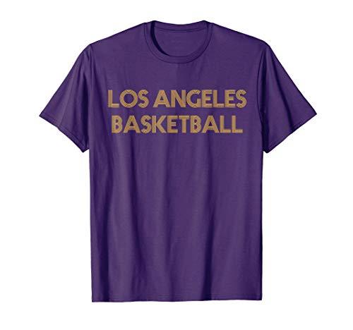 Vintage Retro Los Angeles Basketball T-Shirt