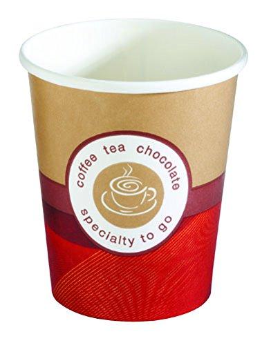 HUHTAMAKI 944617Becher für Kaffee, Papier, Mehrfarbig, 8x 54x 8cm, 50Stück