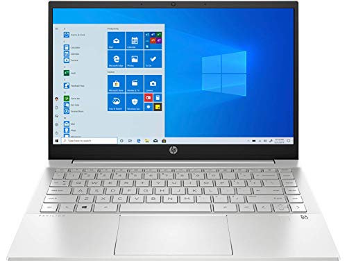 HP Pavilion 14-dv0021ns - Ordenador portátil 14' FullHD (Intel Core i5-1135G7, 16GB de RAM, 512GB SSD, Intel Iris Xe, Windows 10) Plata - teclado QWERTY Español
