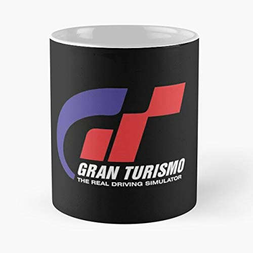 5TheWay Merchandise Gran Logo Turbo Turismo Stuff Gift Car Race Gt Best 11 oz Kaffeebecher - Nespresso Tassen Kaffee Motive