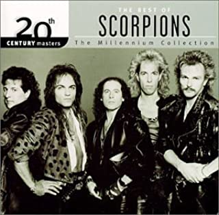 20th Century Masters:The Best of Scorpions Millennium Collection by Scorpions (2001) Audio CD