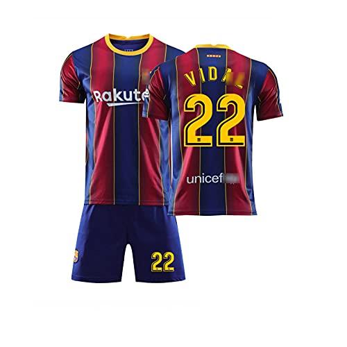 Camisetas de fútbol de Verano para Hombres y Mujeres, adecuadas para la Nueva Temporada: No. 10, No. 8, No. 9 y Otras Camisetas para fanáticos del Equipo. (Adulto XXL,D)