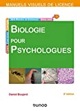 Manuel visuel de biologie pour psychologues - 3e éd.