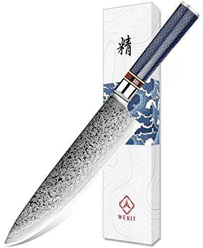 WEKIT Chef Knife 8 Inch damascus knife Chefs knife Japanese