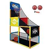 ZXQZ Single Shot Basketball Arcade-Spiel, mit 2 Ball Und Pump Indoor Outdoor Activity Basketball...