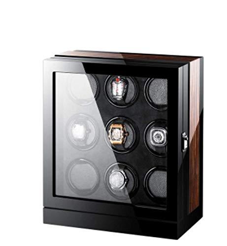 Bobinadora automática de Relojes, Agitadores Cajas oscilantes Relojes mecánicos Cajas de Relojes Bobinadoras Osciloscopios Mesas de Almacenamiento (Color: 9) Happy Life