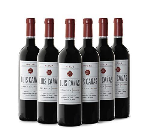 Luis Cañas Crianza Vino Tinto Caja Cartón 6 Botellas - 750 ml