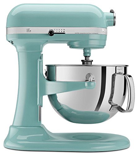 Kitchenaid (CERTIFIED REFURBISHED) Rkp26m1xCA Professional 600 Stand Mixer 6 quart 10-SPD Candy Apple Red