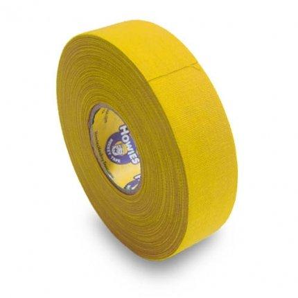 Schlägertape Profi Cloth Hockey Tape 25mm f. Eishockey farbig (gelb), 23 m