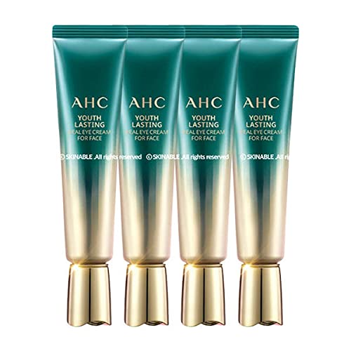 AHC: SEASON9 Youth Lasting Real Eye Cream for Face 30ml x 4ea: Including Collagen, Elastin, Peptide.