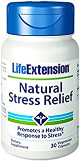 Life Extension - Natural Stress Relief - 30 Vcaps (Pack of 3)