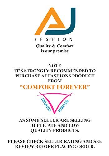 AJ FASHIONS Pack of 3 Stretchable Spandex Soft Cotton Lycra Boy Shorts Panties - Large Black
