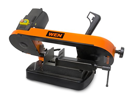 WEN 3975 4-7/8-inch x 5-inch Metal-Cutting Benchtop Band Saw