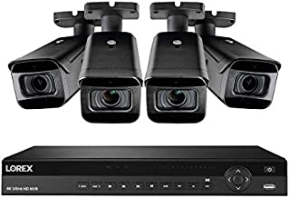 Lorex 4KFPS84 4K Security System w/ N881A63B 16 Channel 4K 3TB NVR and 4 LNB9232 8MP 4K 30FPS Audio Bullet Cameras