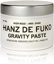 Hanz de Fuko Gravity Paste: Men's Premium Hair Styling Paste with Medium Shine Finish (2 oz)