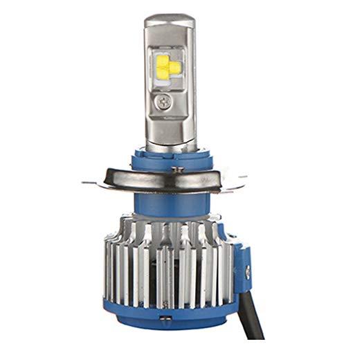 Ensemble de phares T1 LED H7 6000K, éclairage pour projecteur de lanterne de rechange en aluminium de rechange halogène 12 24V 5800ML, lumière blanche, 1 pièce