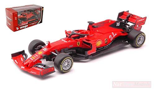 Burago BU36815L Ferrari SF90 Charles Leclerc 2019 N.16 Australian GP 1:43 Model