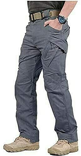 LELEBEAR 2021 Upgraded Tactical Waterproof Pants, Mens Tactical Pants, Waterproof Pants Mens, for Outdoor Hiking,...