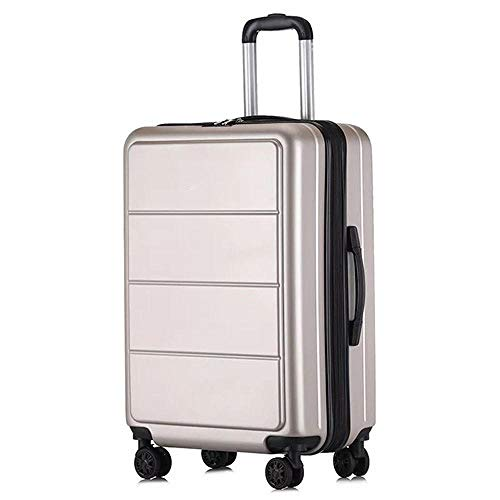 SFBBBO luggage suitcase Business rolling luggage wear resistant travels bag trolley suitcase on wheels 24' Gold