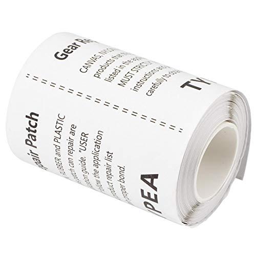 Parche de reparación impermeable, Parche de reparación de TPU, Adhesivo de reparación para exteriores Autoadhesivo Adhesivo fuerte para reparación de carpas para trampolín Bote inflable