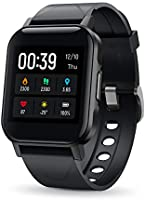 SoundPEATS Smart Watch 12 Sports Modes Compatible with iPhone Android Phones,Fitness Tracker Heart Rate Monitor Sleep...