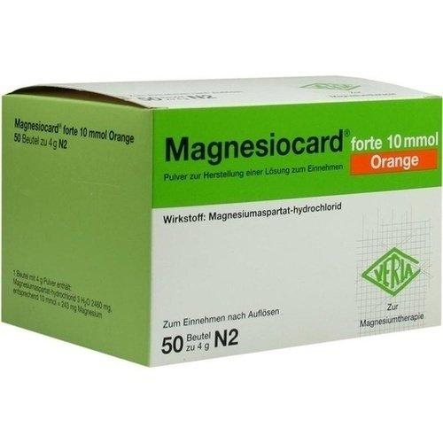 MAGNESIOCARD forte 10 mmol Orange Pulver 50St