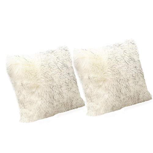 Kecream - Funda de cojín cuadrada para sofá, silla, dormitorio, sala de estar, coche, fundas de almohada decorativas (sin relleno)