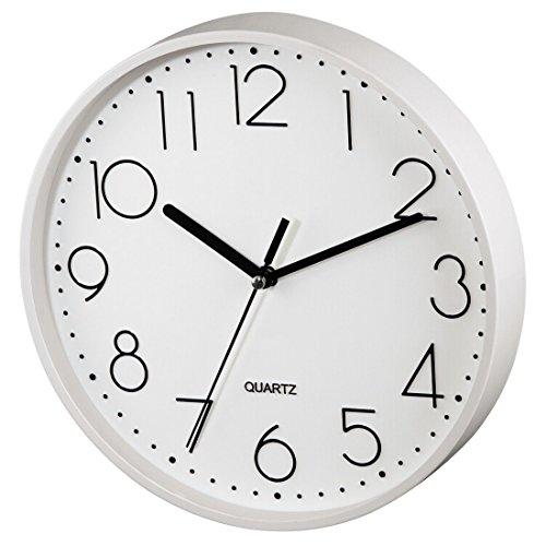Hama Reloj de Pared, Blanco, 26.5x23.5x4.5 cm