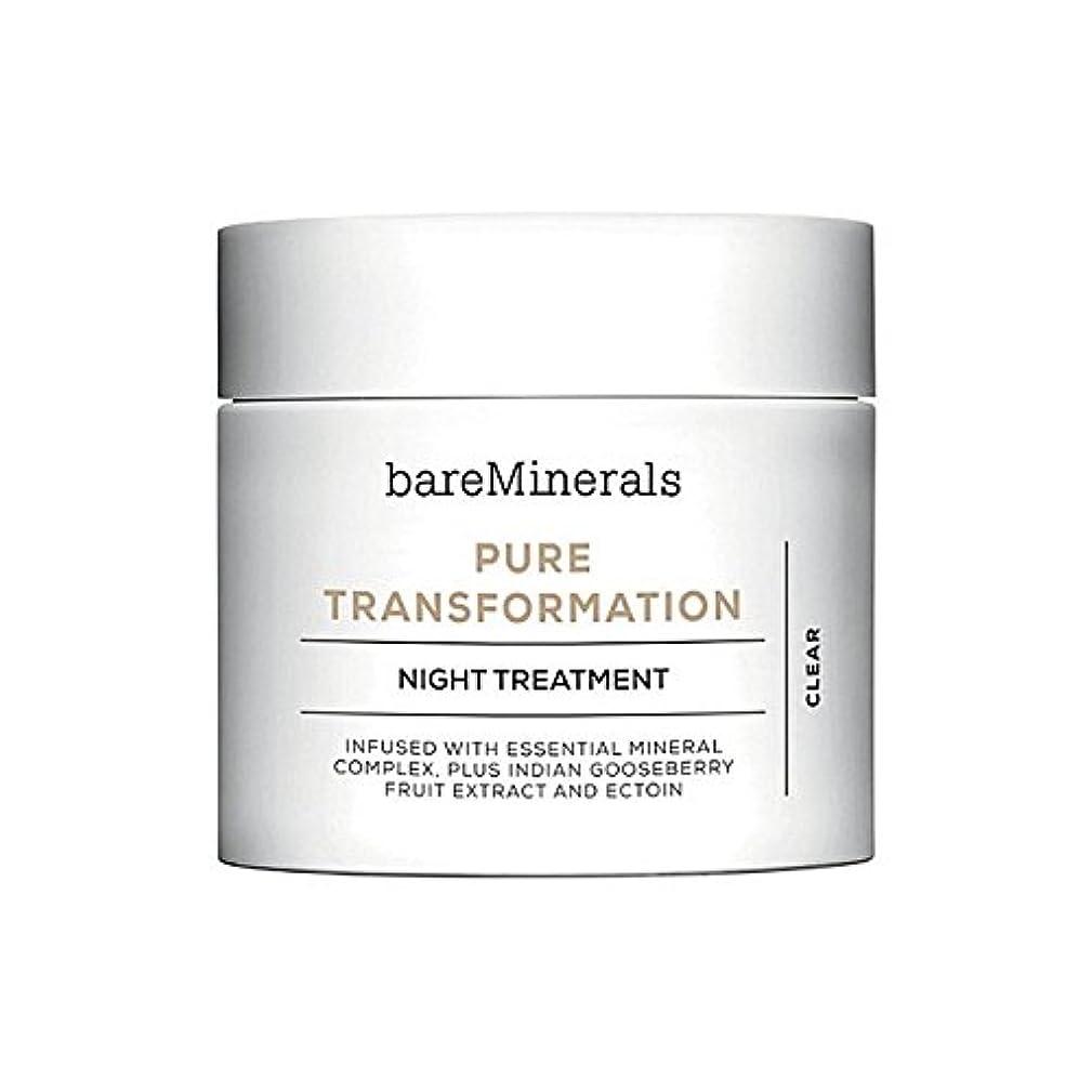 バルーントレッド解決するベアミネラル純粋な変態夜の治療 x4 - Bare Minerals Skinsorials Pure Transformation Night Treatment (Pack of 4) [並行輸入品]