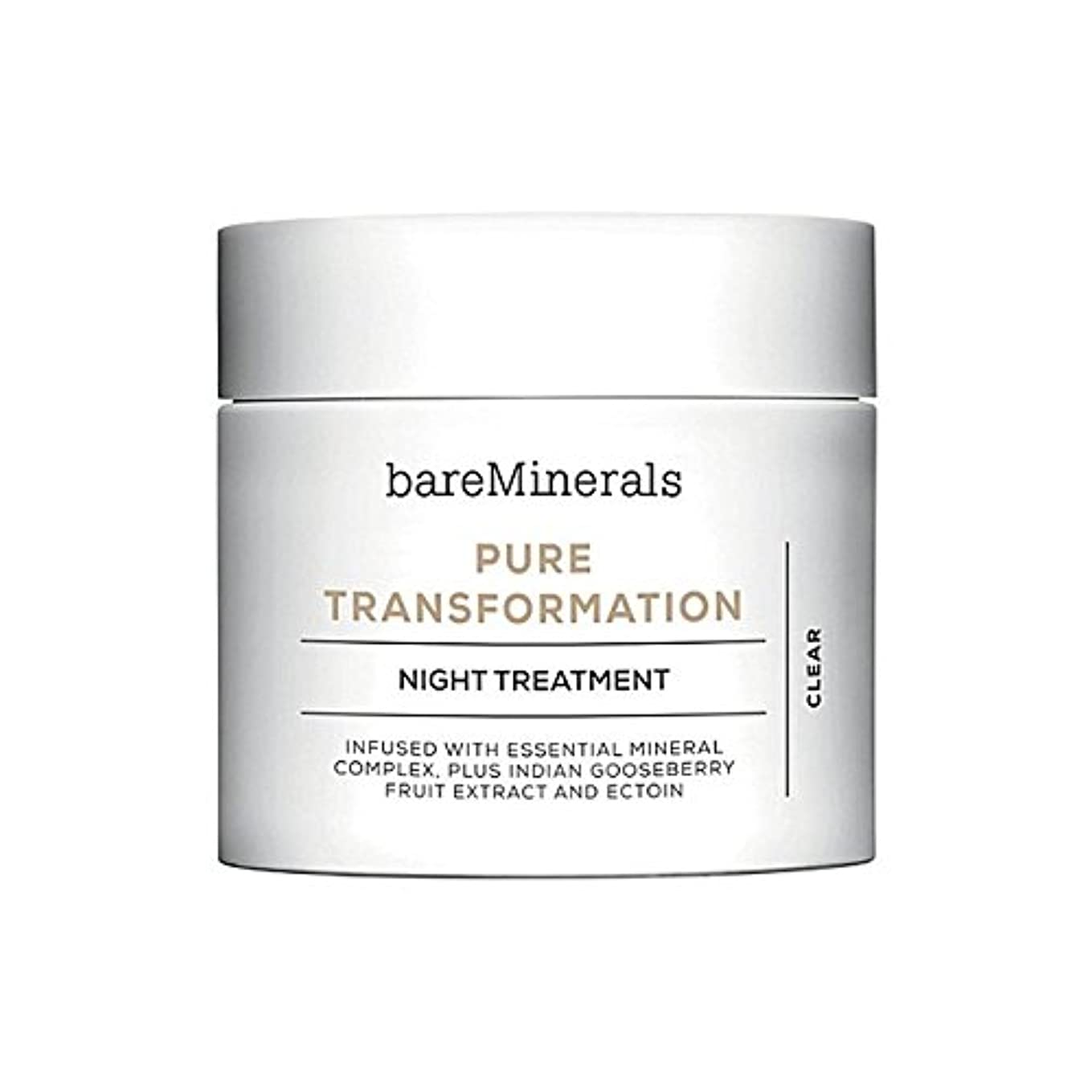 ベアミネラル純粋な変態夜の治療 x4 - Bare Minerals Skinsorials Pure Transformation Night Treatment (Pack of 4) [並行輸入品]