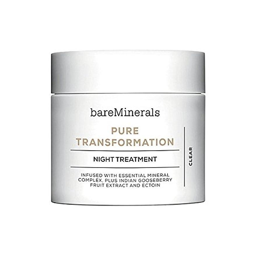 乳剤ボルトメニューBare Minerals Skinsorials Pure Transformation Night Treatment - ベアミネラル純粋な変態夜の治療 [並行輸入品]